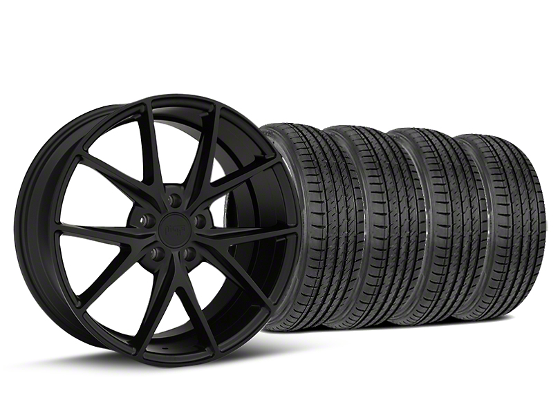 Niche Misano Matte Black Wheel & Sumitomo Tire Kit - 19x8.5 (15-18 All)