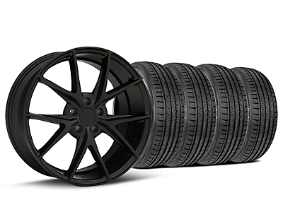 Niche Misano Matte Black Wheel & Sumitomo Tire Kit - 19x8.5 (15-19 All)