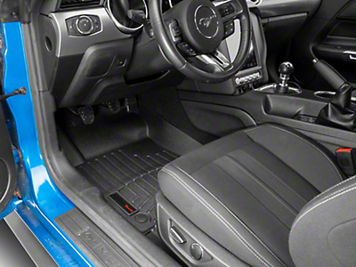 Weathertech DigitalFit Front All Weather Floor Liners - Black (15-17 All)