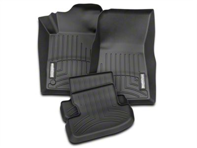 Add Weathertech DigitalFit Front & Rear All Weather Floor Liners - Black (15-18 All)