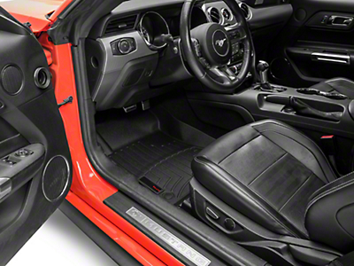 Weathertech DigitalFit Front & Rear All Weather Floor Liners - Black (15-18 All)