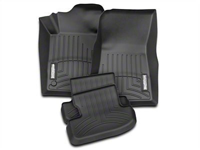 Weathertech Front & Rear Floor Liners - Black (15-17 All)