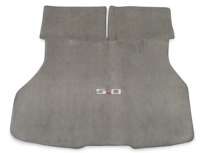 OPR Replacement Hatch Carpet w/ 5.0 Logo - Titanium Gray (90-92 Hatchback)