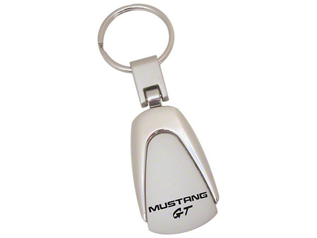 Teardrop Style Key Chain with Mustang GT Logo