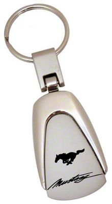 Ford Mustang GT Chrome Tear Drop Key Chain
