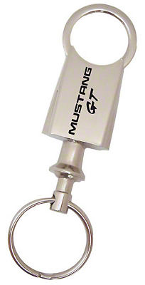 Valet Style Key Chain - Mustang GT