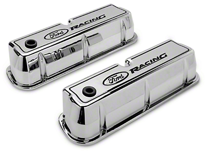 Ford Polished Valve Covers (289, 302, 351W)