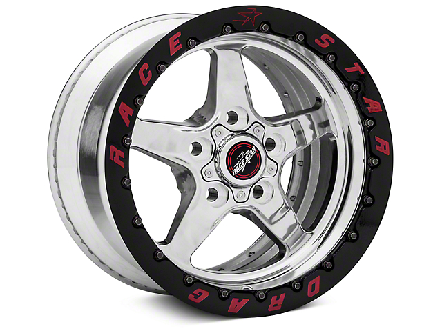 Race Star Drag Star 92 Double Bead Lock Drag Wheel - 15x10 (87-93 w/ 5 Lug Conversion)