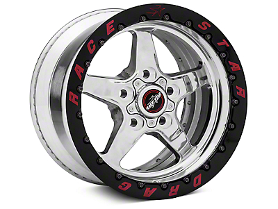 Race Star Drag Star 92 Double Bead Lock Drag Wheel - 15x10 (87-93 5 Lug Conversion)