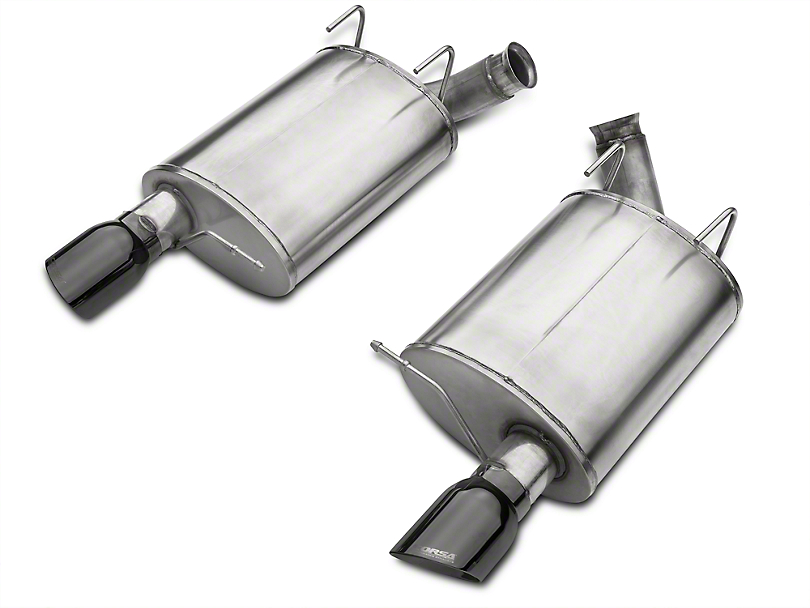 Corsa Sport Axle-Back Exhaust - Black Tips (11-12 GT500)