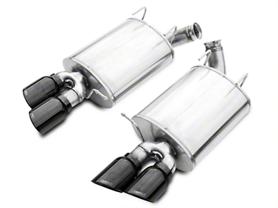 Corsa Sport Axle-Back Exhaust w/ Black Quad Tips (13-14 GT500)