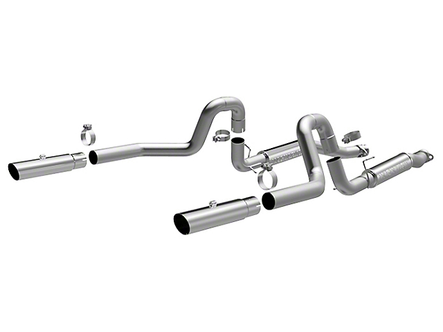 Magnaflow Competition Cat-Back Exhaust - 3in. (99-04 GT, Mach 1)