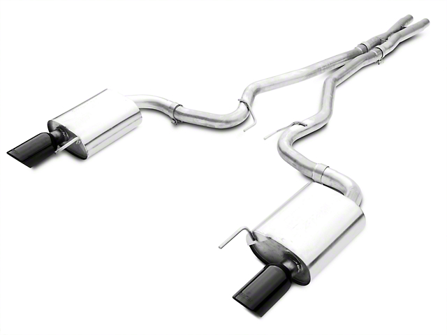 Borla ATAK Cat-Back Exhaust with Black Chrome Tips (15-17 GT)