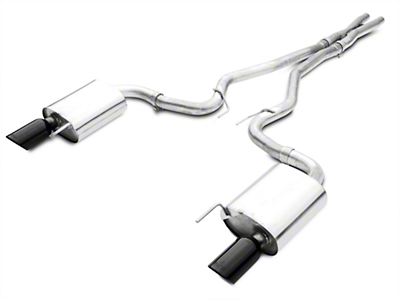 Borla ATAK 2.5 in. Cat-Back Exhaust - Black Tips (15-17 GT)