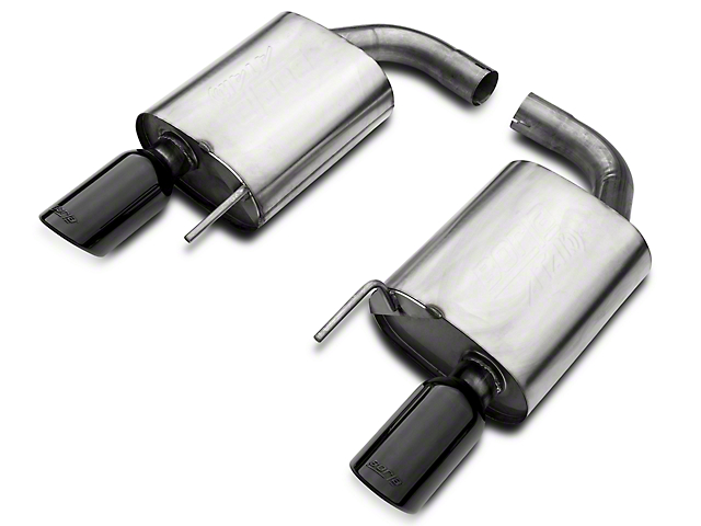 Borla ATAK 2.5 in. Axle-Back Exhaust - Black Tips (15-17 GT)