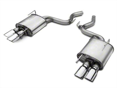 Roush Quad Tip Axle-Back Exhaust Only (15-17 GT Fastback)
