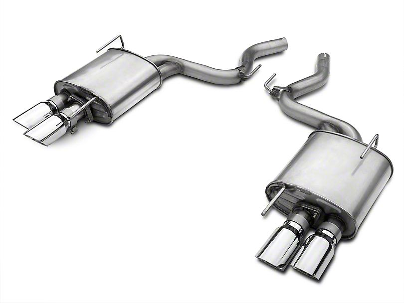 Roush Quad Tip Passive Axle-Back Exhaust (15-17 GT Premium)