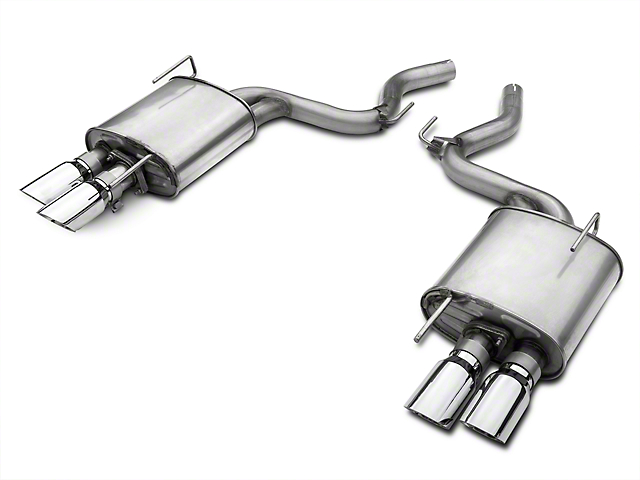 Roush Quad Tip Passive Axle-Back Exhaust (15-17 EcoBoost Premium)