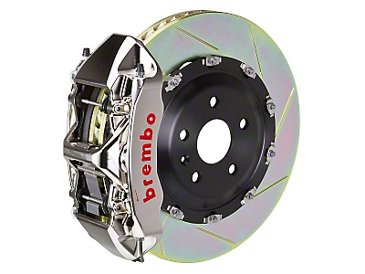 Brembo GT-R 6-Piston Front Brake Kit - 15 in. Type 1 Slotted Rotors (15-17 All)