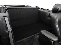 Alterum Rear Seat Delete; Black (94-04 Convertible)