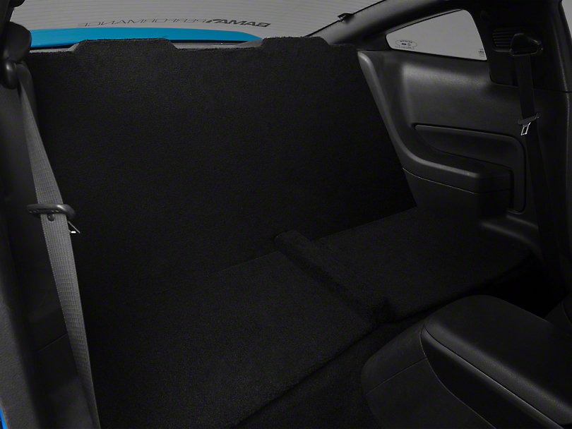 Alterum Rear Seat Delete - Black (05-10 Coupe)
