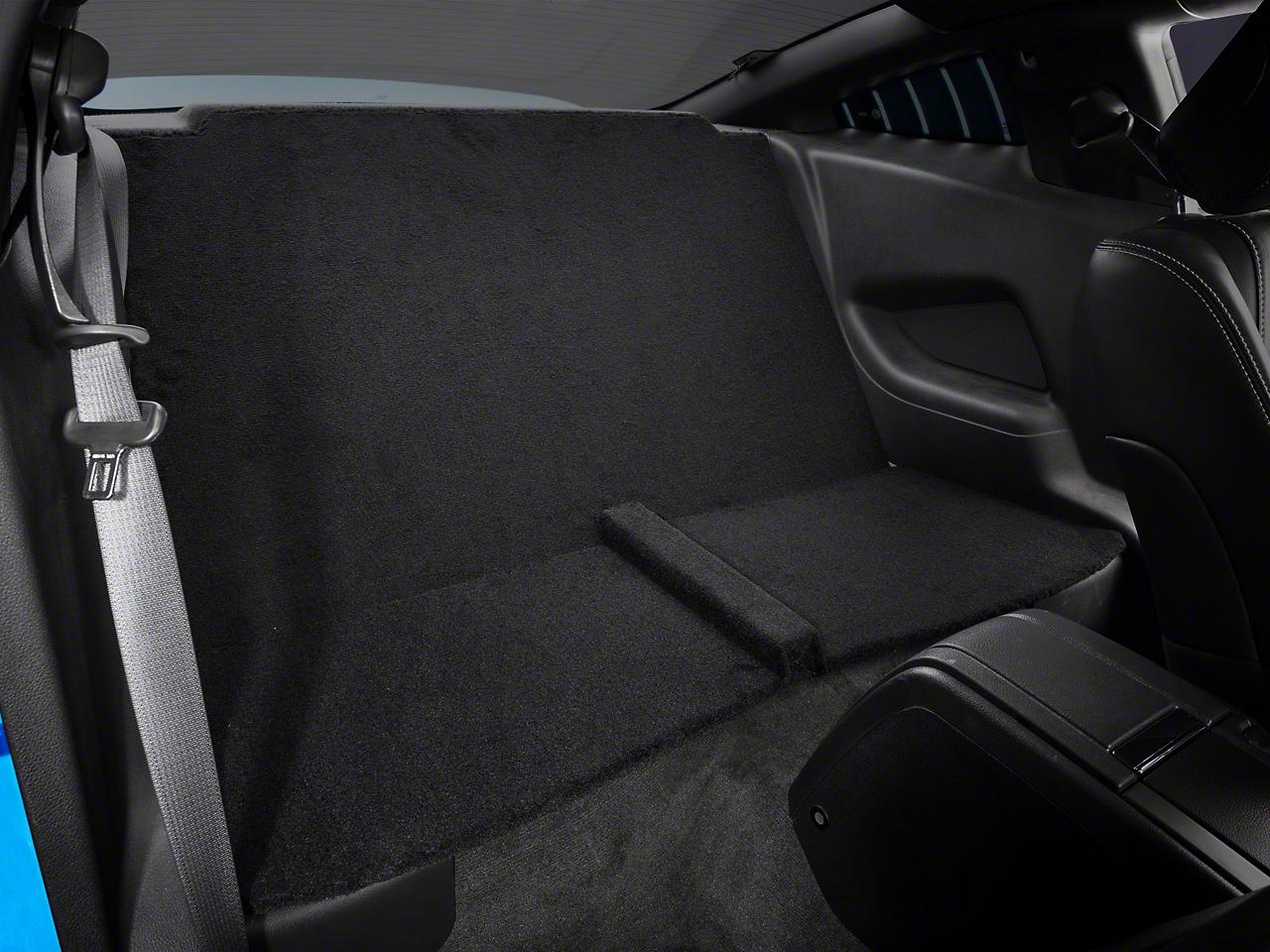 Alterum Rear Seat Delete - Black (11-14 Coupe)