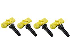 Valve Stem-Mounted TPMS Sensors; Set of Four (10-14 All)