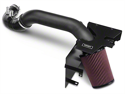 Mishimoto Performance Air Intake - Wrinkle Black (15-17 EcoBoost)