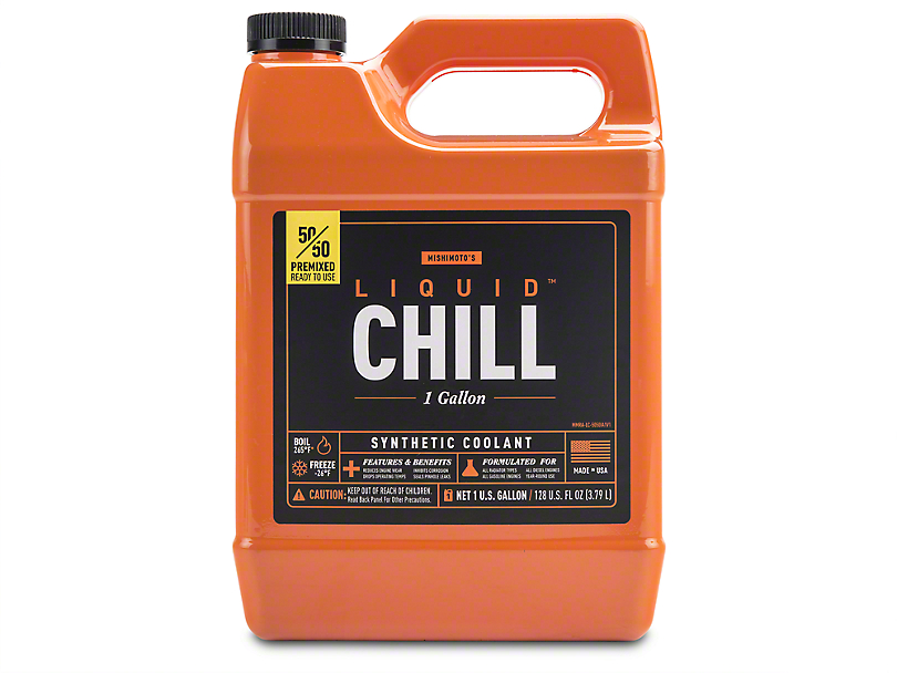 Mishimoto Liquid Chill Performance Coolant - 50/50 Pre-mix - One Gallon (79-18 All)