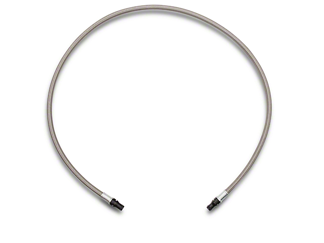 SR Performance Braided Stainless Steel Hydraulic Clutch Line (15-17 GT, EcoBoost, V6)
