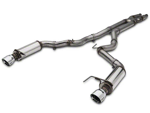 Magnaflow Competition Series Cat-Back Exhaust with Polished Tips (15-17 GT)