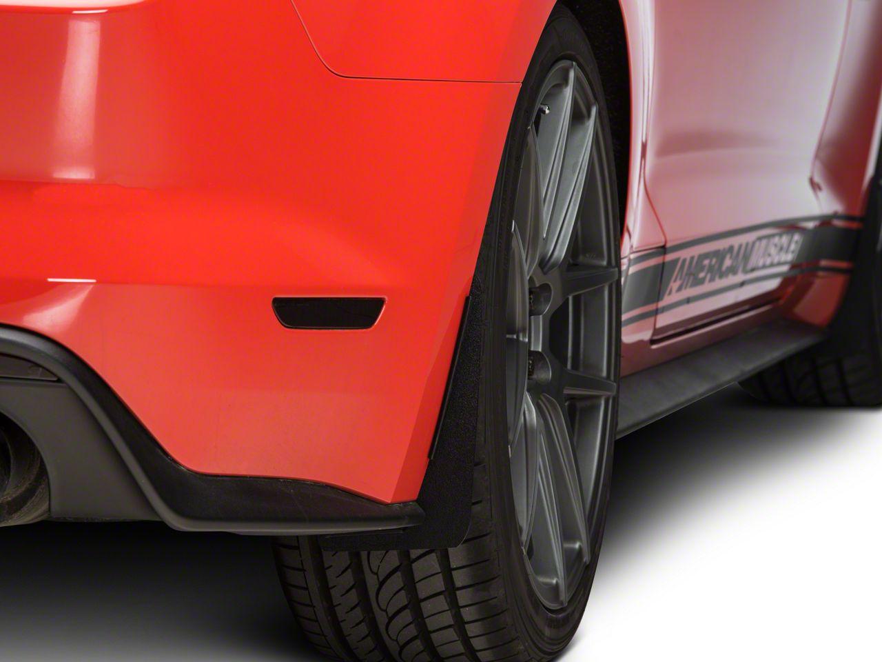 SpeedForm No-Drill Splash Guards - Rear Pair (15-19 GT, EcoBoost, V6)