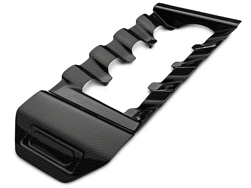 Trufiber Carbon Fiber Engine Cover Insert (15-17 GT)
