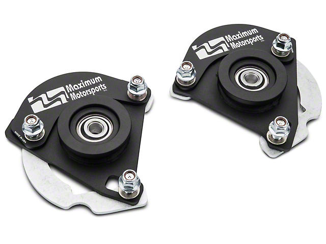 Maximum Motorsports Caster Camber Plates (15-18 All)