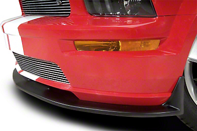 Cervini's Type 3 Chin Spoiler - Textured Black (05-09 GT)