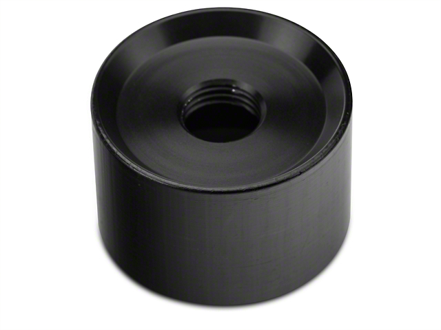 Modern Billet Jam Nut Collar Adapter - Black (15-20 GT, EcoBoost, V6)