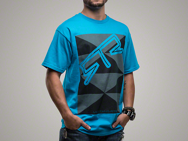 RTR Blue Triangles T-Shirt