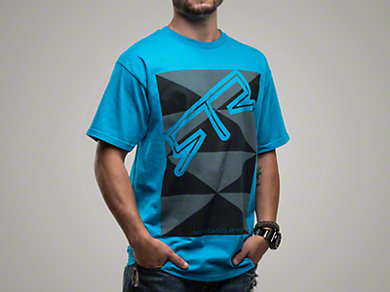RTR Blue Triangles T-Shirt