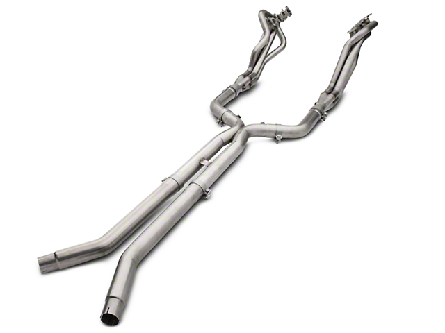 American Racing Headers 1-7/8 x 3 in. Long Tube Off-Road Headers w/ X-Pipe - Long System (15-19 GT)