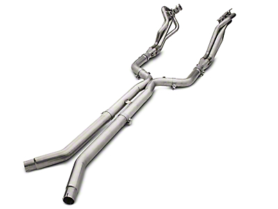American Racing Headers 1-7/8 x 3 in. Long Tube Off-Road Headers w/ X-Pipe - Long System (15-18 GT)