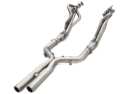 American Racing Headers 1-7/8 x 3 in. Long Tube Off-Road Headers w/ X-Pipe - Bottle-Neck Eliminator (15-17 GT)
