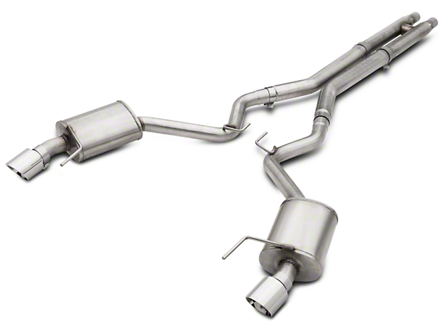 American Racing Headers 3 in. Pure Thunder Cat-Back Exhaust w/ H-Pipe (15-17 GT Fastback)