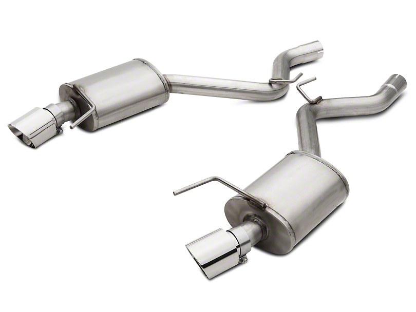 American Racing Headers Pure Thunder Axle-Back Exhaust (15-17 GT Fastback)