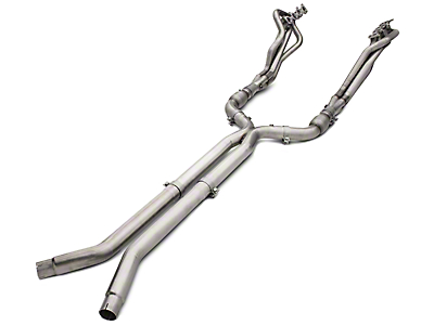 American Racing Headers 1-3/4 in. Long Tube Catted Headers w/ X-Pipe - Long System (15-18 GT)