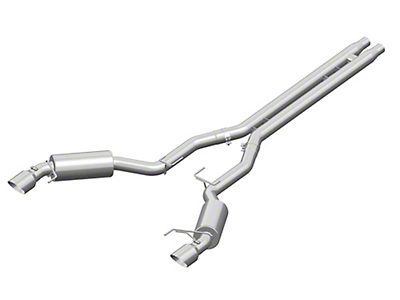 MBRP Installer Series Cat-Back Exhaust w/ H-Pipe - Aluminized Race Version (15-17 GT)