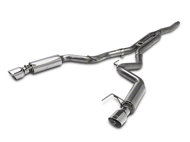 MBRP XP Series Cat-Back Exhaust w/ Y-Pipe - Race Version (15-19 EcoBoost Fastback w/o Active Exhaust)