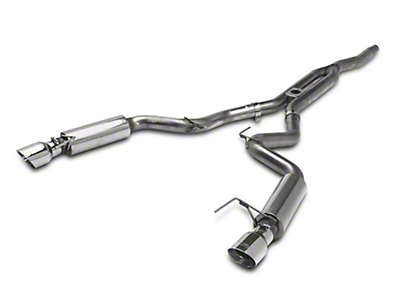 MBRP XP Series Cat-Back Exhaust w/ Y-Pipe - Race Version (15-17 EcoBoost Fastback)