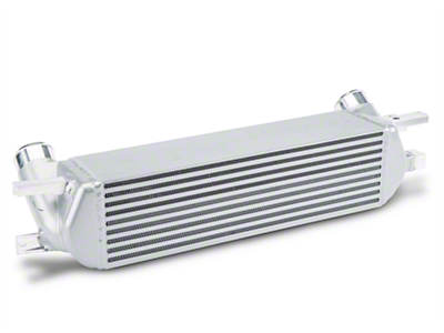 Mishimoto Silver Intercooler Kit w/ Wrinkle Black Piping (15-18 EcoBoost)