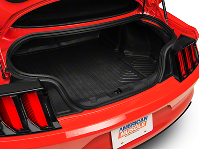 Husky WeatherBeater Trunk Liner - Black (15-17 Fastback)