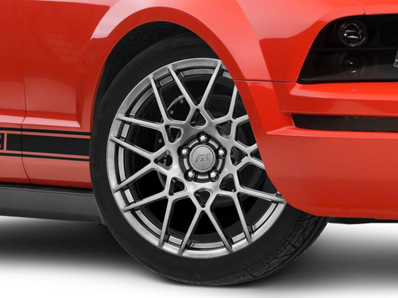 2010 2014 hyper dark 2013 gt500 style wheels americanmuscle Carbon Black 2014 Mustang GT Cowl Hood 2013